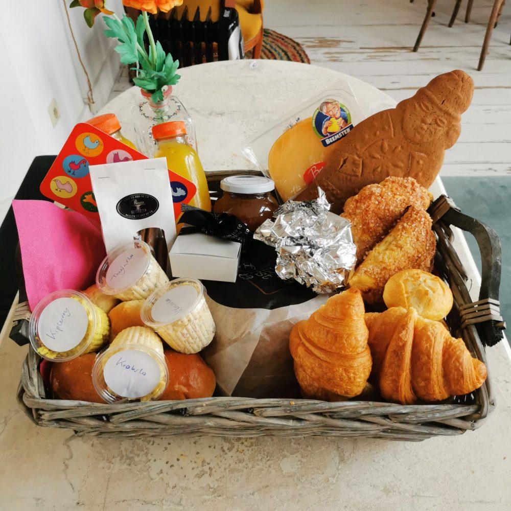 Ontbijtmanden aan huis